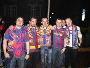 Barcelona - Real (Madrid) @ Ole-Ole