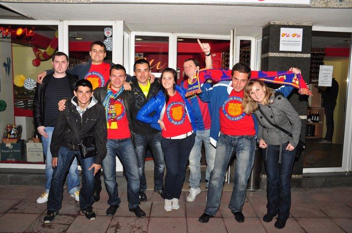 Фенклуб Барселона-България гостува на Livesport.bg