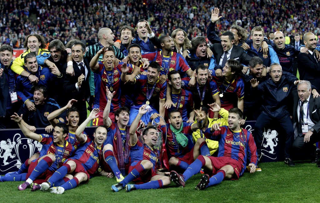 Барселона - предсезонна подготовка